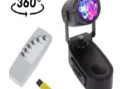 Bola de rayos con luces giratoria x 10u