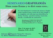 Seminario de grafolgía en rosario