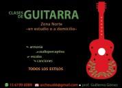 Clases de guitarra en san fernando y zona norte!!