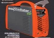 Soldadora inverter 250 ampers gladiator ie8250 5º generacion 011-4756-6371