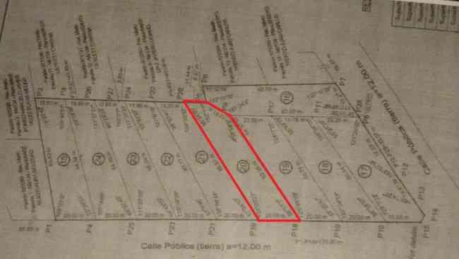 Lote en Merlo San Luis con planos aprobados