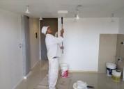 Albañilería, pintura y revestimientos (con dirección profesional)