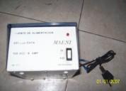Fuente regulada 13,8 vcc - 6 amp marca maeni