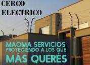 Cercoelectrico de seguridad