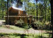 Constructora de cabañas en troncos|casas | quinchos | techos | revestimientos | contructora belaver