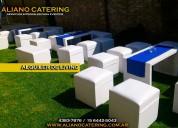 Livings a domicilio alquiler 4383-7876 ambientacion alquiler de living exposiciones 15 aÑos bodas