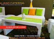 Alquiler de puff alquiler de living 43837876 / 1564425043 casamientos fiesta de 15 aÑos alquiler pu