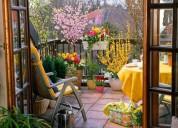 Jardinero a domicilio + paisajista + jardinería urbana