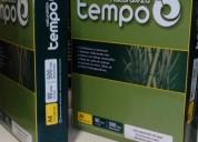 Papel reciclado ecologico formato a4, resma 500 hojas 80 gramos,