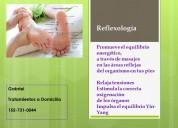 Reflexologia + terapias complementarias