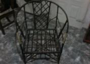 Vendo 2 sillones de caÑa super reforzados 690$