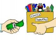 Compro comics y muñecos - pago más