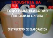 Articulos de limpieza y automotor-mayorista-industria ba