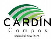 Campos en santa fe - inmobiliaria rural cardín campos.