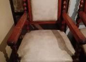 Juego de sillones antiguos estilo frances
