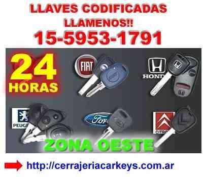 cerrajería del hogar y del automotor 15-59531791