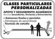 Clases particulares para universidad facultad terciario profesorados magisterios caballito
