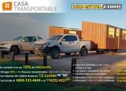 Casa transportable!una revolucion en la construccion!