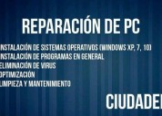 servicio tÉcnico pc notebook netbook