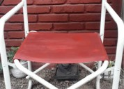 Vendo sillas de lona tipo director como nuevas