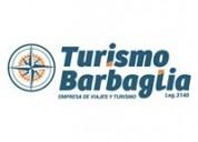 Turismo barbaglia - agencia de viajes y turismo en santa fe.