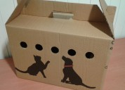 Cajas transportadoras para mascotas
