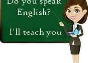Clases de inglés profesora de instituto