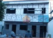 Viviendas indrustrializadas, steel framing, construcción en seco, durlock.
