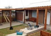 Construccion y reparacion de techos de madera