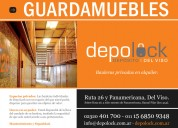 Guardamuebles - bauleras privadas - depósito