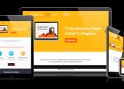 Diseño de páginas web de alto impacto lo que tu negocio necesita