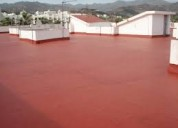 Impermeabilizacion de techos y terrazas.