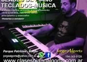 Clases de piano, teclados y música, profesor particular