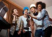 Clases de canto sls grabaciones en estudio