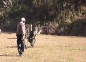 Curso de armas, tiro y defensa personal