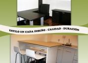 Carpinteria artesanal vinka muebles de cocina - restauraciones