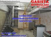 Gasista matriculado seguridad y precios accesibles al 1535413446