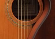 Clases de guitarra clásica y eléctrica