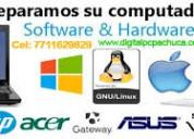 Reparación de computadoras y laptops