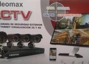 Kit cctv de vigilancia dvr y 4 cámaras oferta