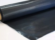 Film nylon negro cobertor rollo de 2x50mts espesor 200 micrones