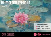 Curso taller de dibujo y pintura caballito flores