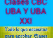 Caballito profesores clases particulares a domicilio todas las materias y niveles apoyo cbc ubaxxi