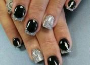 Manicura uñas esculpidas
