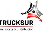 Trucksur cargas srl - transporte de cargas generales-contenedores-carretones