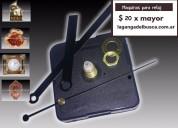 Maquinas para reloj ideal para artesanias completa con agujas marca la ganga del busca ,
