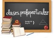 Apoyo escolar a alumnos de diferentes niveles