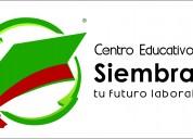 Siembra tu futuro(carreras de grafologia y auxiliar de maestra jardinera)