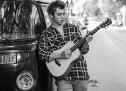 Clases de guitarra y canto en agronomia parque chas