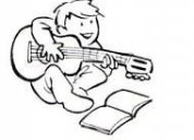Profesora de guitarra especializada motivación infantil